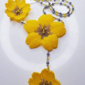 collana a fiori